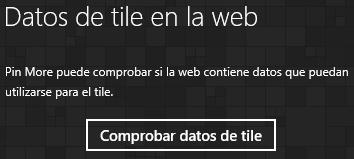 Check for tile data button