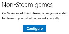Configure button
