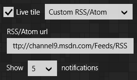 Custom RSS/Atom feed